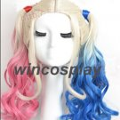 Harley Quinn Cosplay wig Suicide Squad cosplay wig adult size
