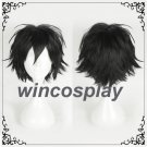 P5 Persona 5 Kurusu Akira Joker Cosplay Wig Black Anti-wrinkle Curly Hair New