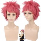 Fairy Tail Natsu Dragneel Pink Spiky Cosplay Party Wig natsu cosplay wig