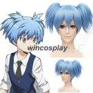 Wig Assassination Classroom Shiota Nagisa Cosplay Wig shiota cosplay blue wig