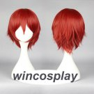 Wig Assassination Classroom Akabane Karuma Cosplay Wig men red  cosplay wig
