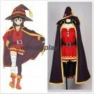 KonoSuba God's Blessing On This Wonderful World Megumin Cosplay Costume  Halloween witch dress