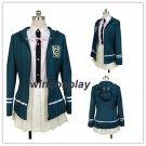 Chiaki Nanami Danganronpa Dangan-Ronpa Uniform Cosplay Costume Dress Unisex