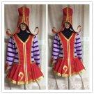 League Wicked LULU of Legends Cosplay Costume Halloween Lulu costume