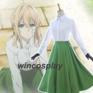 Violet Evergarden Auto Memory Doll Cosplay Costume any sizes violet cosplay costume dress