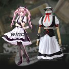 Steins Gate Feris Nyannyan cosplay costume Custom made steins gate maid costume
