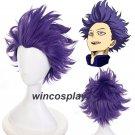 My Boku no Hero Academia Shinsou Hitoshi Cosplay Wig men halloween cosplay wig