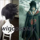 Anime NARUTO Uchiha Sasuke Cosplay Wig Halloween Party Accessories Hair