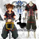 Game Kingdom Hearts 3 Cosplay Sora Costume Anime Carnival party Clothing costume