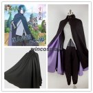 Boruto: the Movie Uchiha Sasuke Konoha Cosplay Costume Halloween Outfit Cape Set