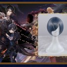 Anime Black Butler Ciel Phantomhive Short layered Cosplay Wig ciel cosplay wig
