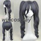 Black Butler Kuroshitsuji Ciel Phantomhive Cosplay Wig Silver 70cm (Weight :500 g)
