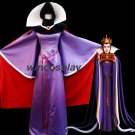 Snow White Evil Queen Dress Purple Cosplay Costume Custom Made Adults Halloween