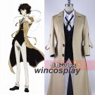 Bungo Stray Dogs Armed Detective Agency Osamu Dazai Cosplay Literary Stray Dogs Halloween Costume