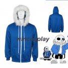 Game Undertale Cosplay Costume Hoodie  Sweatshirt Coat Christmas Gift