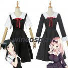 Kaguya-sama: Love is War Cosplay Costume Kaguya Shinomiya Anime Cosplay Chika Costume School Uniform