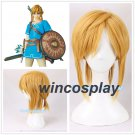 The Legend of Zelda Link Golden Cosplay Concert Role Play Wigs Halloween Party