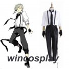 Bungo Stray Dogs Atsushi Nakajima cosplay costume Uniform Halloween Party Anime