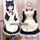 Anime Ore No Imouto Gokou Ruri Kuro Neko Black Cat Cosplay Costume Maid Dress