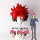 Food Wars Shokugeki no Soma Yukihira Souma Cosplay Wig Souma mix red blue black cosplay wig