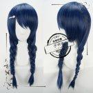 Shokugeki no Soma Megumi Tadokoro Cosplay wig Pigtail Hair Wig Clover Hairpin