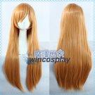 Shokugeki no Soma Nakiri Erina Anime 80cm Long Straight Cosplay Wig
