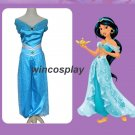 Aladdin and the Magic Lamp Jasmine Costume Kids Girls Cos Dance Performance Suit