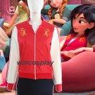 Wreck It Ralph 2 Mulan Cosplay Costume Princess Mulan Jacket Ralph Breaks  Cosplay