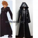 Kingdom Hearts Organization XIII Roxas Black cloak Cosplay Costume Halloween