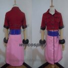 Game Final Fantasy VII 7 Cosplay Costumes Aerith Aeris Gainsborough Cosplay Costumes Pink Dress