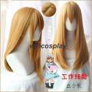 Cells at Work Hataraku Saibou Platelet Long Straight Brown Cosplay Wig