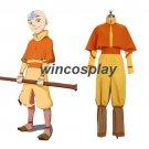 Avatar The Last Airbender Cosplay Aang Cosplay Costume Halloween Cosplay Costume