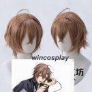 Hypnosis Mic Division Rap Battle Gentaro Yumeno Cosplay Wig Blonde Short Synthetic Hair