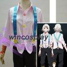 Tokyo Ghoul  Cosplay Pink /white Juzo Suzuya cosplay costume