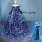 Olaf's Frozen Adventure Deluxe Musical Elsa Dress cosplay costume fancy dress