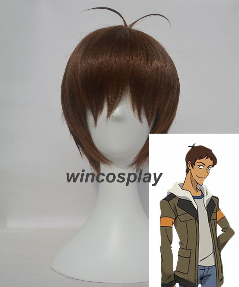 Voltron Legendary Defender Lance Cosplay Wig Men Short Straight Anime Hair