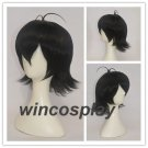 Voltron Keith Wig Short Black Heat Resistant Synthetic Hair Wigs