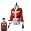 Voltron:Legendary Defender Keith Red Jacket for women men halloween cosplay costume Top Coat
