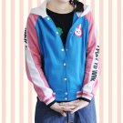 D.va OW Hoodies Cosplay DVA costume Jacket Sweatshirts Autumn Cotton Clothes