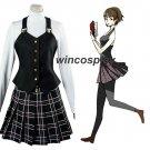 Persona 5 Makoto Niijima Queen Winter School Uniform Dress Cosplay Costume