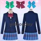 Customize Love Live Cosplay Kotori Nozomi Maki Honoka Nico Hanayo Rin costume Uniforms