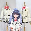 SSSS.GRIDMAN Rikka Takarada Outfit Sweater Coat Uniform Suit Set Cosplay Costume