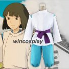Anime Miyazaki Hayao Spirited Away Haku cosplay costume Custom New Size