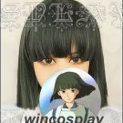 Spirited Away Haku Nigihayami Kohakunushi Green Algae Color Cosplay Wig