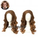 Harry Potter Hermione Jean Granger Cosplay Wigs  Brown Cosplay Full Wig