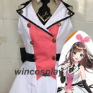 YouTuber Channel Virtual Kizuna AI A.I. Uniform Dress Full Set Cosplay Costume
