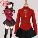 Fate/Stay Night Rin Tohsaka Cosplay Costume Rin Uniform Dress