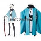 Okita Souji Cosplay Sakura Saber Arturia Pendragon Grand Order Fate Stay Night Costume