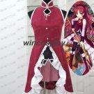 Custom Made Puella Magi Madoka Magica Kyoko Sakura Cosplay Costume with Shoescover