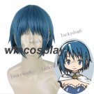 Sayaka Miki cosplay wig Puella Magi Madoka Magica  Miki Sayaka Cosplay wig women blue wig